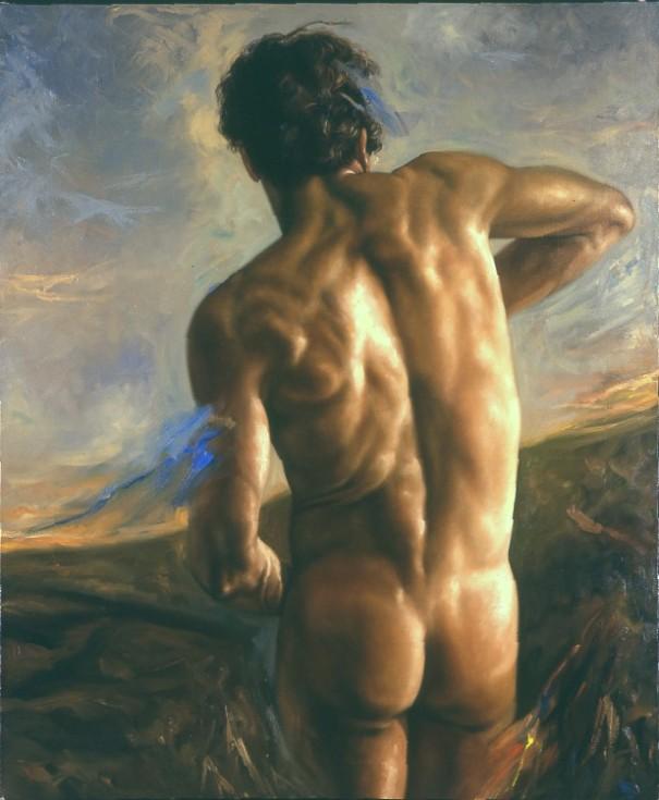 Cuadros de Hombres Arte Hiperrealista