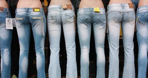 nina peña - pantalones - jeans - lucha feminista -