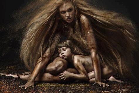 nina peña - mujeres - naturaleza - feminismo