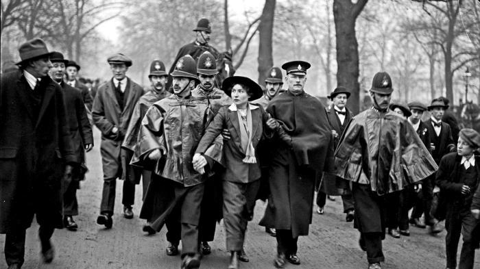 sufragista - suffragette - nina peña
