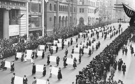 sufragistas - 1915 ny - nina peña - feminismo