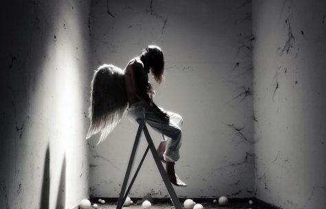angel - nina peña - poema - imagina