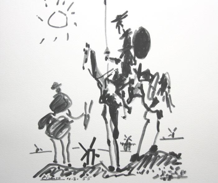 don quijote - nina peña - libros - autores