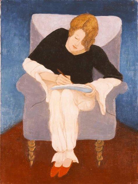 nina peña - mujer escribiendo