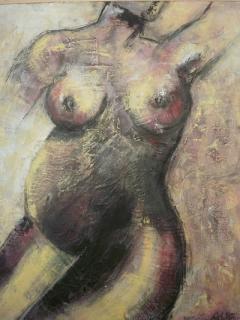 ana lamelas - nina peña - embarazo - cuerpo