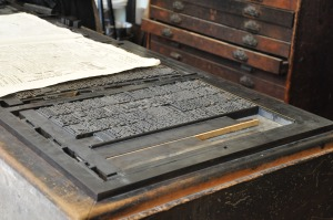 imprenta - tipografias - planchas