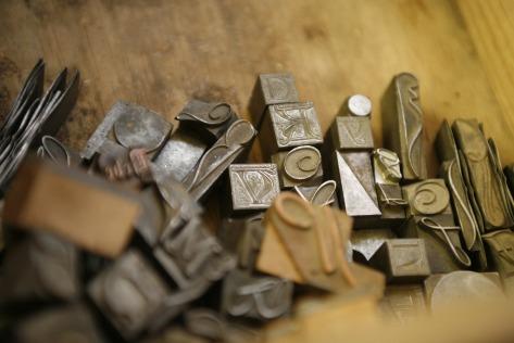 letra - tipografía - imprenta