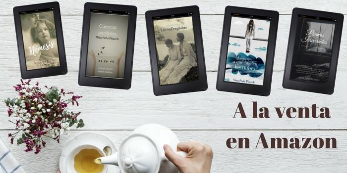 libros - ebooks - taza - tetera