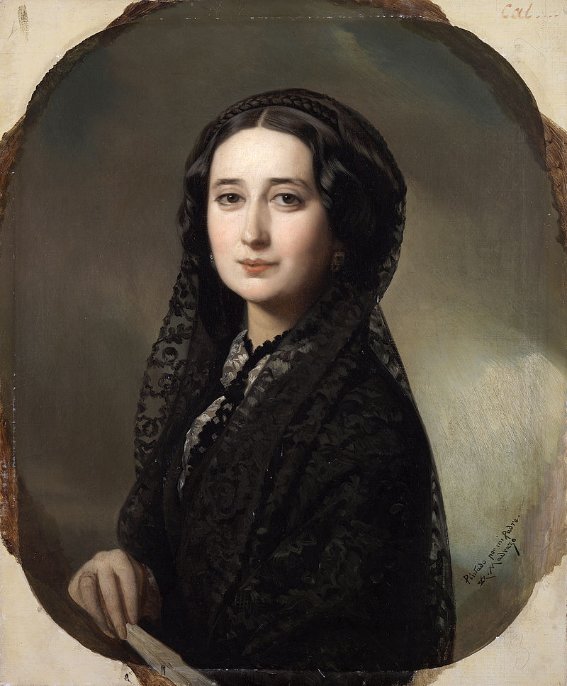 mujer - retrato - Carolina Coronado